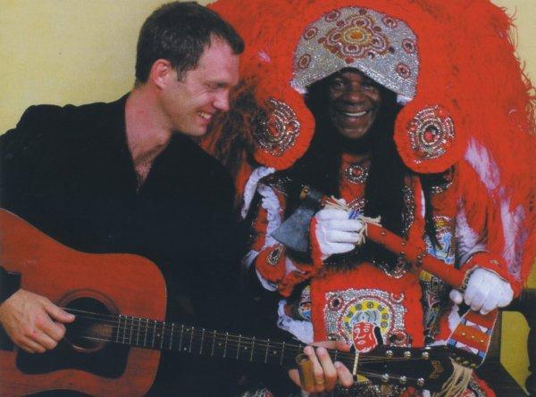 Anders Osborne y Big Chief Monk Boudreaux: alianza cultural