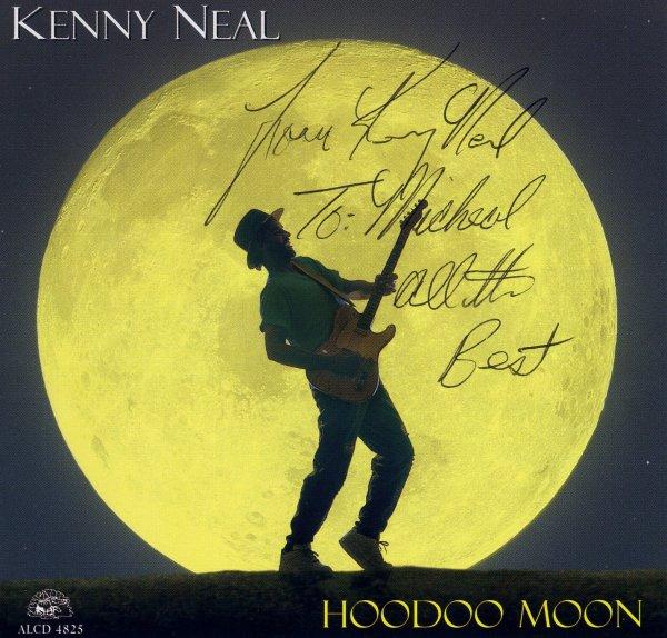 La dedicatoria de Kenny Neal, estampada en la portada de