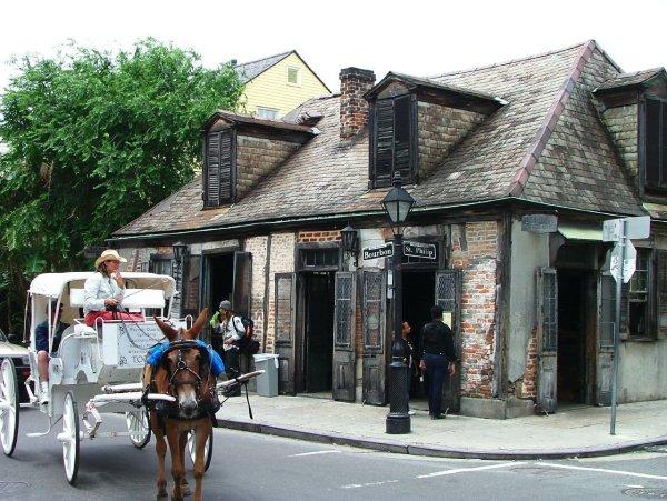El Lafitte's, el bar más antiguo de Estados Unidos. Foto: Lobberich