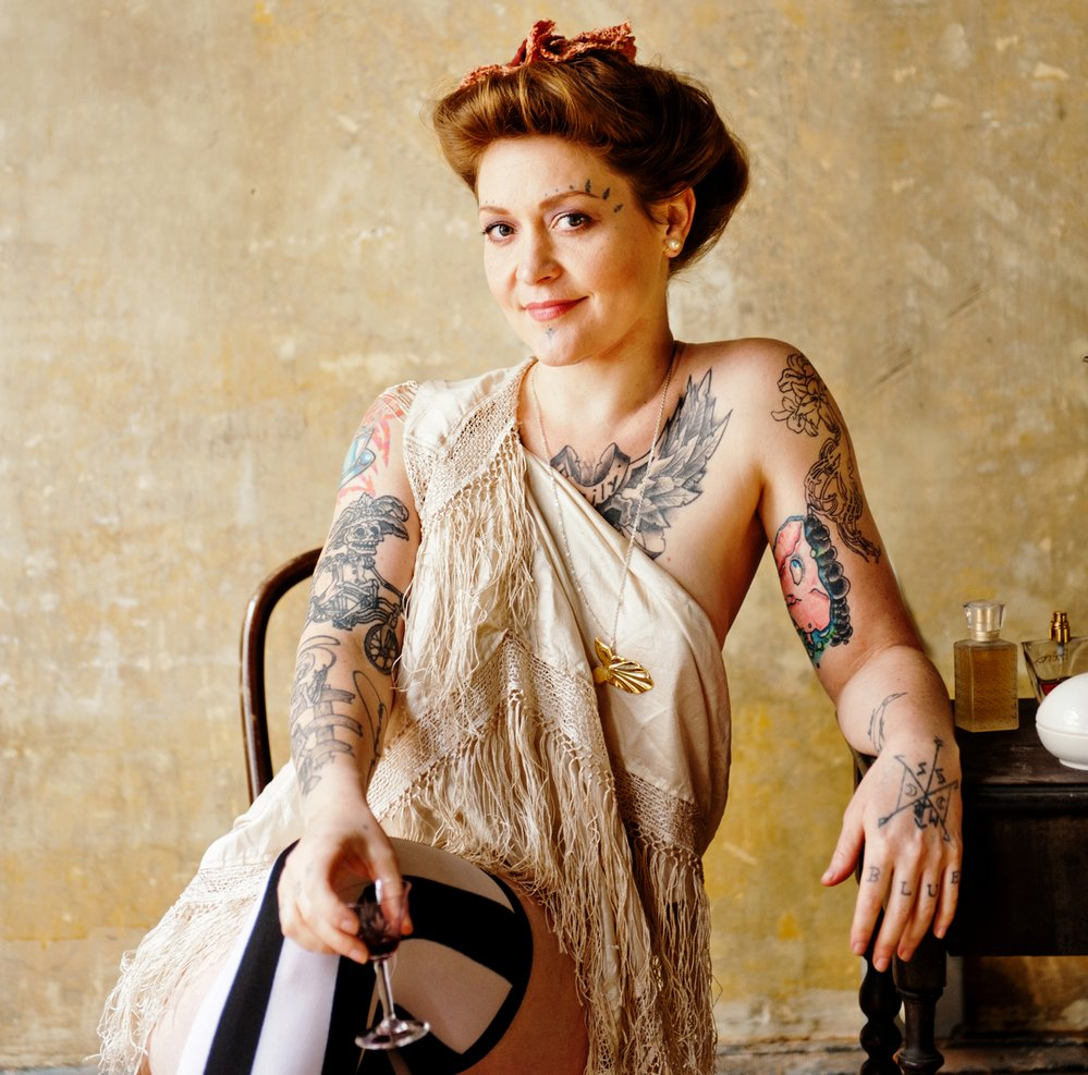 Meschiya Lake, la pin up tatuada
