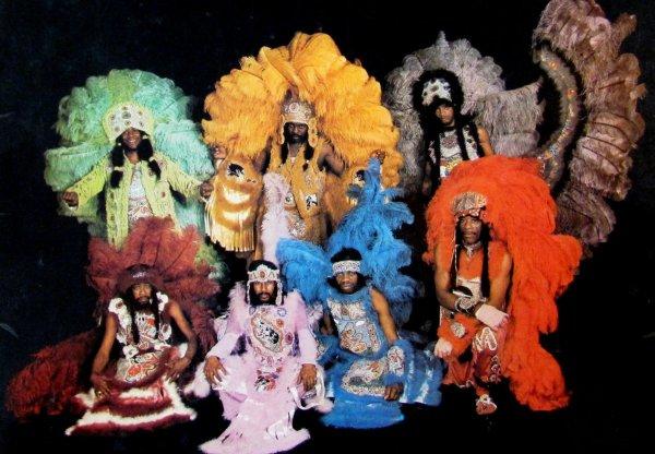 La espectacular tribu de los Wild Magnolias en los años setenta