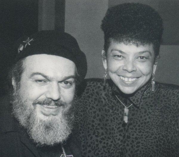 Dr. John con Lillian Boutté en la grabación de