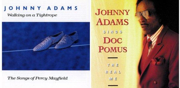 Los álbumes de Johnny Adams rindiendo tributo a Percy Mayfield y Doc Pomus