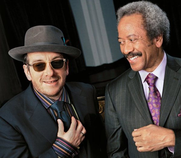 Elvis Costello & Allen Toussaint: el inglés y el caballero de Nueva Orleans. Foto: Jimmy Katz