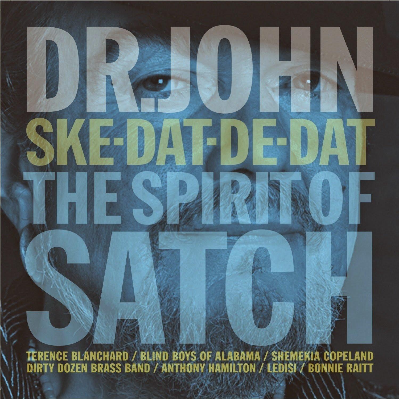 Portada del álbum de tributo de Dr. John a Louis Armstrong