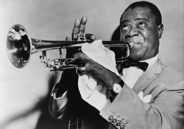 Louis Armstrong, mucho más que un trompetista. Foto: World-Telegram - Library of Congress