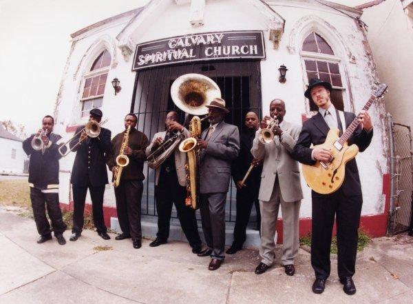 The Dirty Dozen Brass Band, la primera generación de renovadores de las bandas de metales de Nueva Orleans