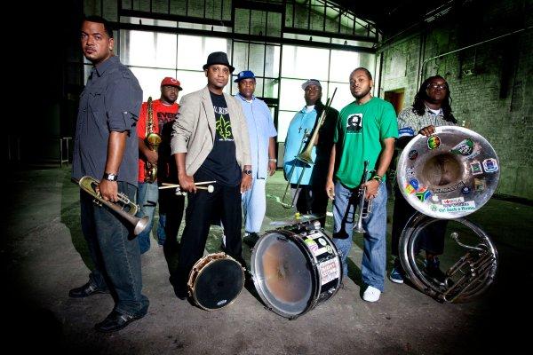 Soul Rebels: cuando las brass bands se mezclan con el rap y el reggae