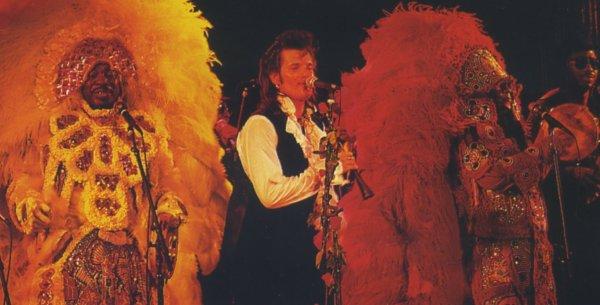 """Willy con The Wild Magnolias en la """"New Orleans Revue"""""""