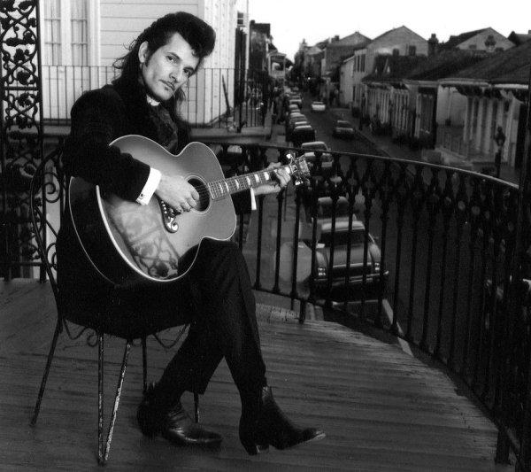 Willy DeVille en el Barrio Francés de Nueva Orleans