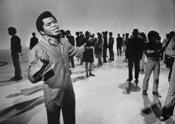 James Brown en 1969, en el programa
