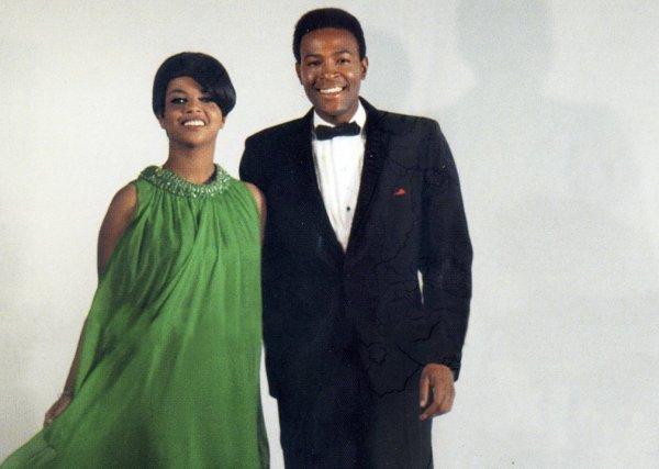 Tammi Terrell y Marvin Gaye: una pareja truncada por la tragedia
