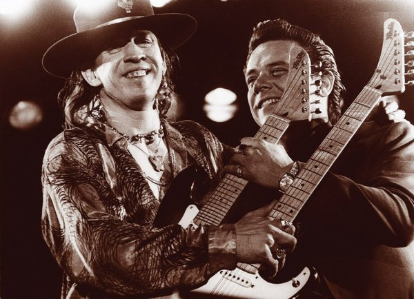 Los hermanos Stevie Ray y Jimmie Vaughan: el blues blanco en su máxima excelencia