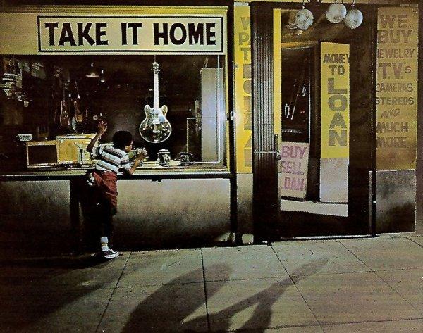 """La portada de """"Take It Home"""" (1979), o el deseo de un niño por conseguir una guitarra"""