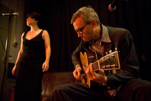 Myriam y Amadeu Casas: blues primigéneo. Foto: Noemí Elías