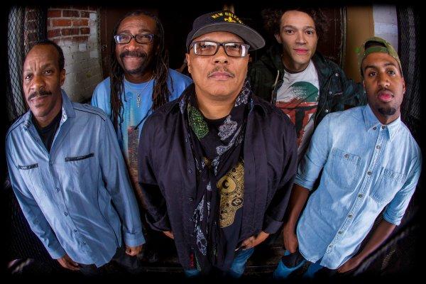 Dumpstaphunk, considerada por algunos la mejor banda actual de funk en Nueva Orleans