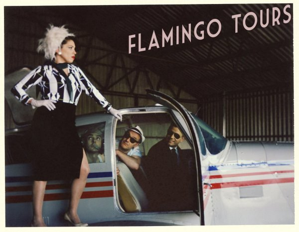 Flamingo Tours, rock'n'roll salvaje. Foto: Noemí Elías