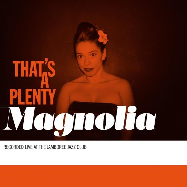 Portada del primer álbum de Magnolia, grabado en directo