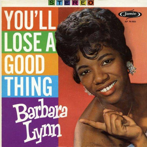 La cantante y guitarrista Barbara Lynn, con su éxito
