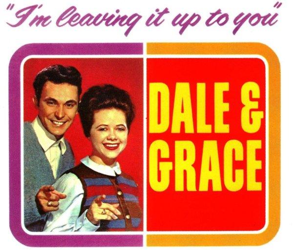 Dale & Grace, en la portada de su álbum de debut