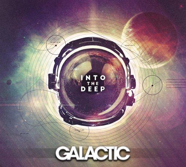 """Portada de """"Into The Deep"""", el nuevo álbum de Galactic"""