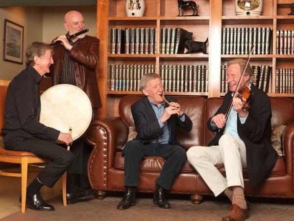 The Chieftains: Irlanda + Galicia + México