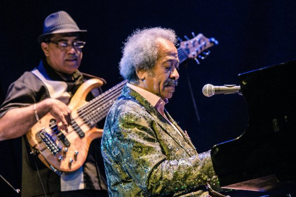 Allen Toussaint, en su último concierto en el Teatro Lara de Madrid. Foto: Jaime Massieu