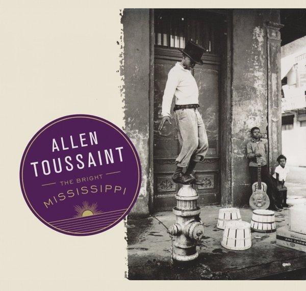 """Portada de """"The Bright Mississippi"""", el primer álbum en solitario de Toussaint post-Katrina"""