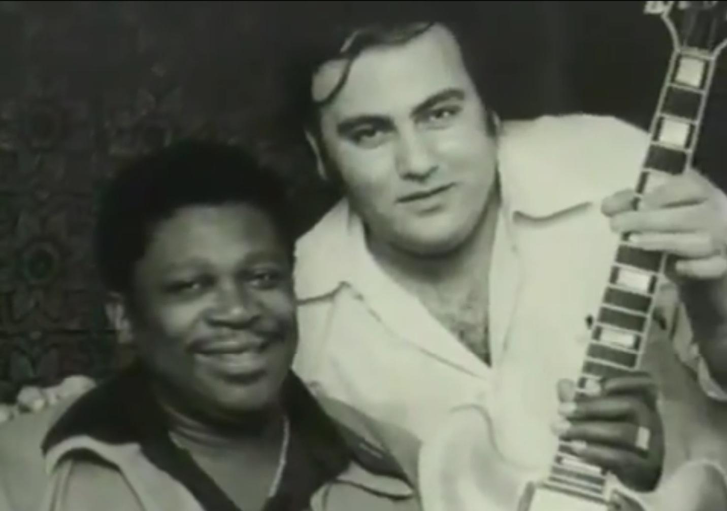 B.B. King junto a Clifford Antone