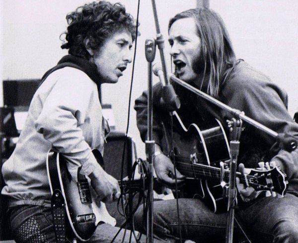 Bob Dylan con Sahm en 1972: ¿quién es el maestro?
