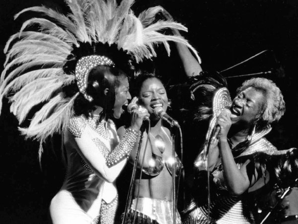 El grupo LaBelle, en una imagen de los setenta, saltó a la fama con una producción de Allen Toussaint