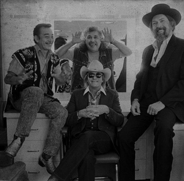 Flaco Jiménez, Freddy Fender, Doug Sahm y Augie Meyers: los tornados de Texas