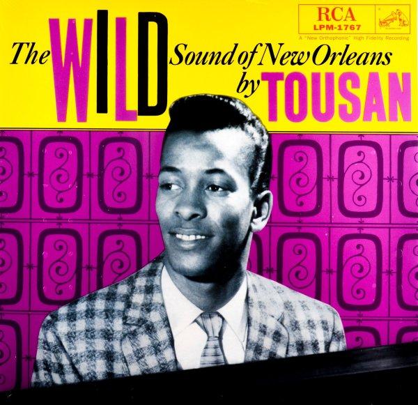 Portada del primer álbum de Allen Toussaint de 1958, cuando firmaba como Tousan