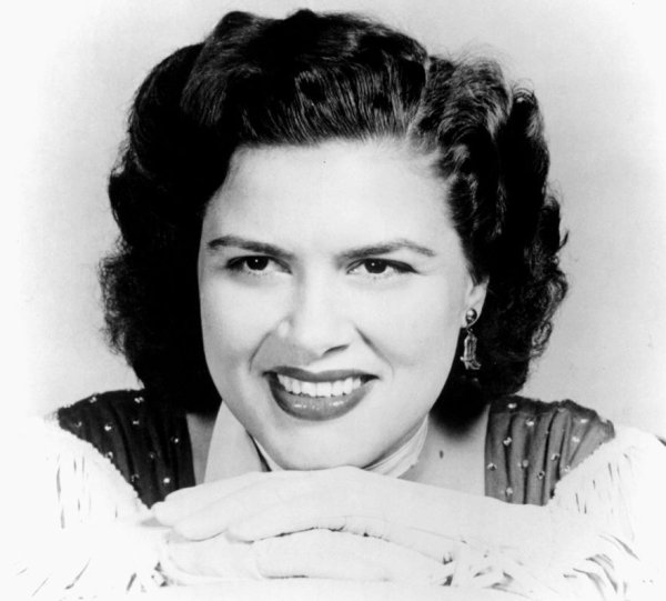 La legendaria cantante de country Patsy Cline