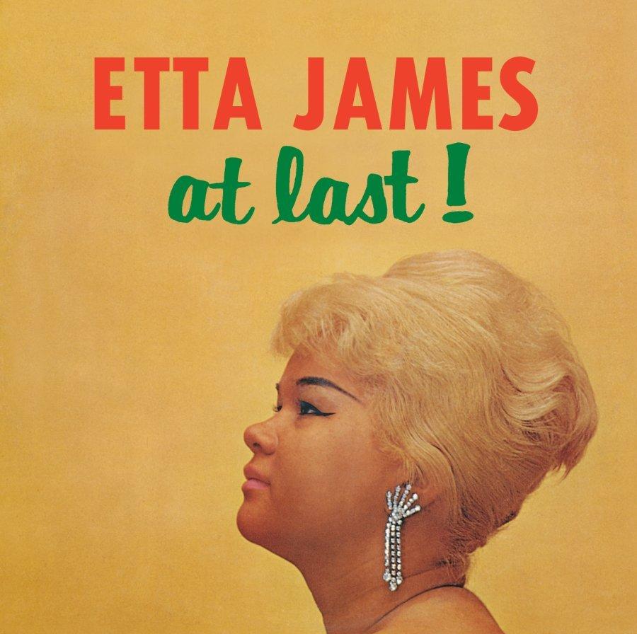 """Portada de """"At Last!"""", el debut de Etta James"""
