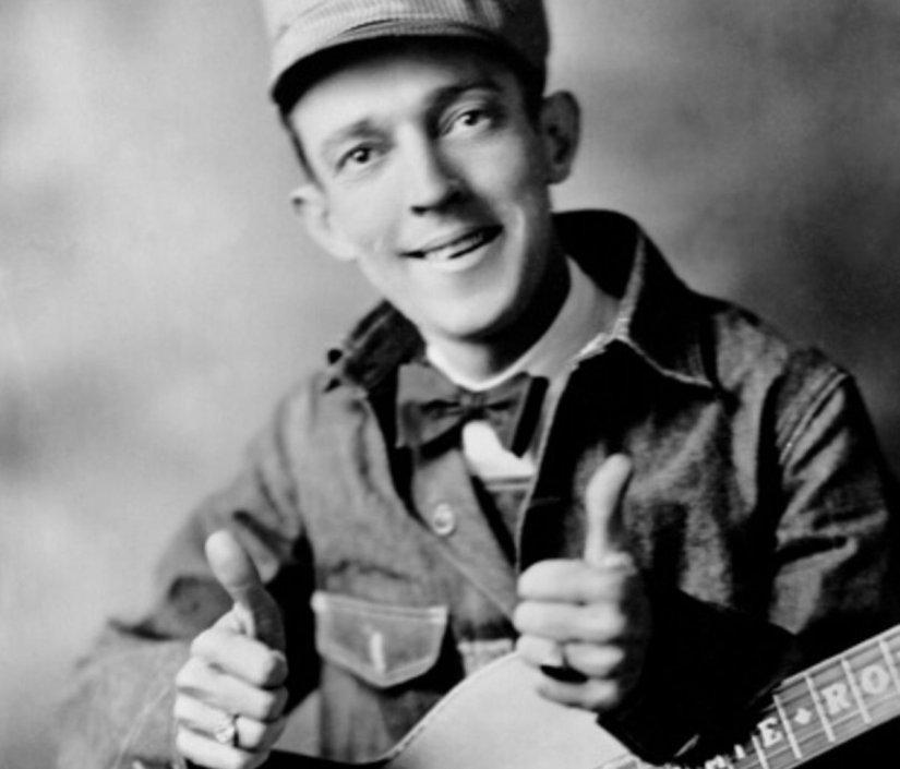 Jimmie Rodgers, uno de los pioneros del folk-country