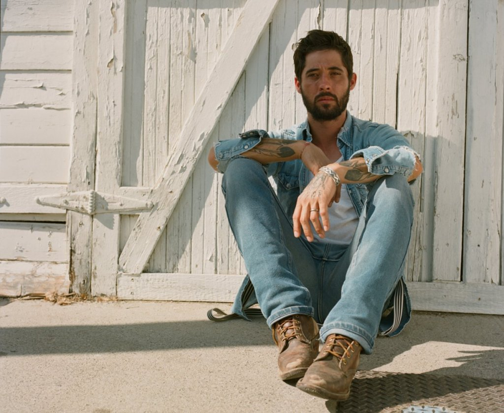 El cantautor californiano Ryan Bingham.