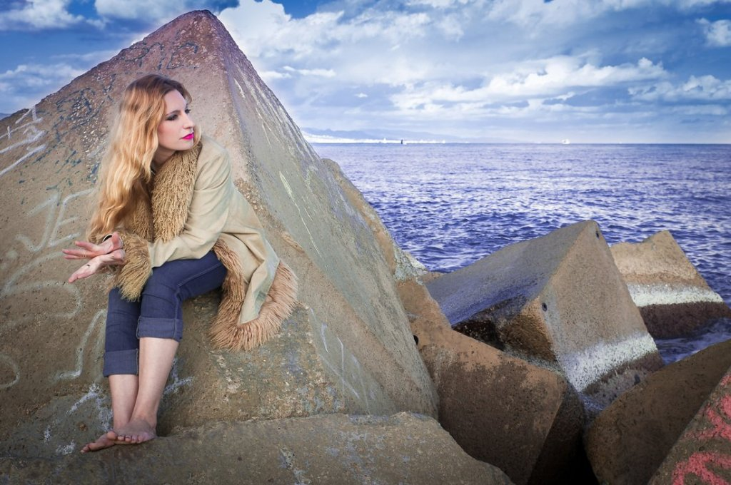 Tori Sparks, una norteamericana en Barcelona. Foto: Desi Estevez