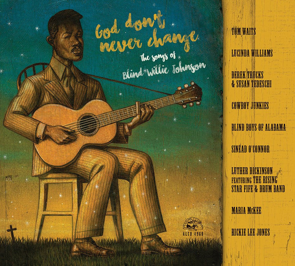 Portada del álbum de tributo a Blind Willie Johnson