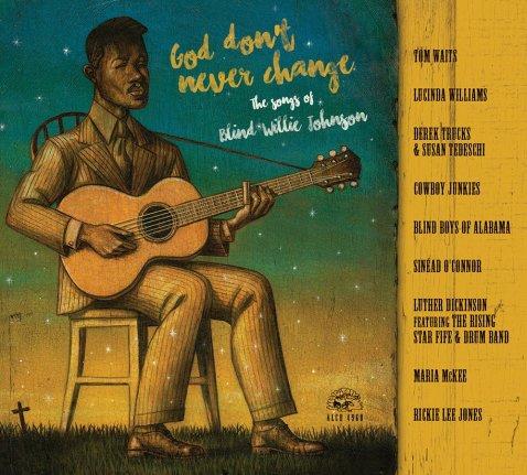 Portada del álbum de tributo a Blind Willie Johnson