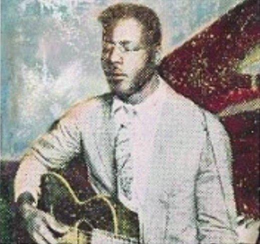 La única imagen conocida de Blind Willie Johnson