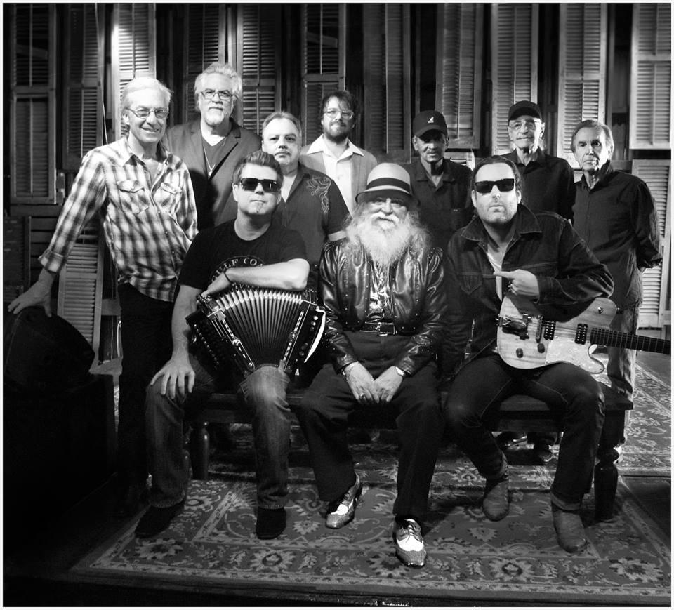 La Lil' Band O'Gold con Egan (segundo a la izquierda). Foto: Denny Culbert