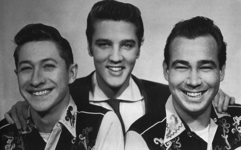 Scotty, Elvis y Bill Black