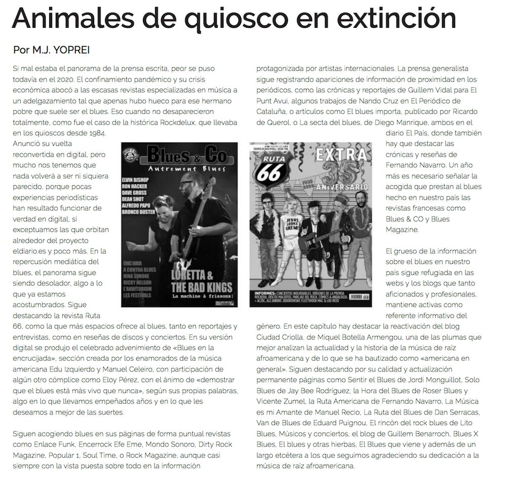 Anuario Societat de Blues de Barcelona
